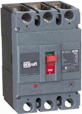 Автоматические выключатели силовые в литом корпусе