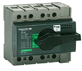 Рубильники Schneider Electric Interpact Compact INS