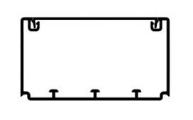Кабель-канал Efapel 90х50 мм