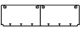 Кабель-канал Efapel 180х50 мм