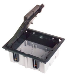 Лючки напольные для фальш-полов с глубиной 90-120 мм