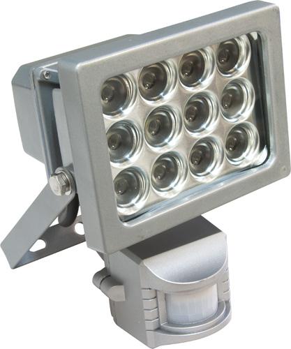 Светодиодные прожектора с датчиками движения