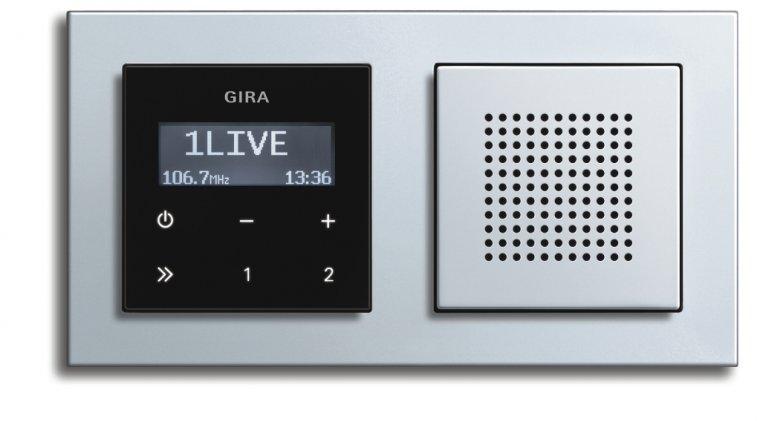 Встраиваемое радио в стену GIRA
