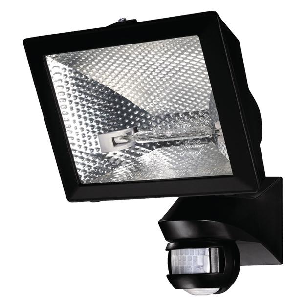 Галогенные прожектора с датчиками движения