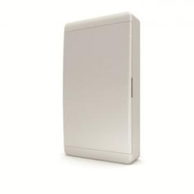 01-01-065 Щит навесной 36 мод. IP40, непрозрачная белая дверца BNN 40-36-1 (Tekfor серия B)