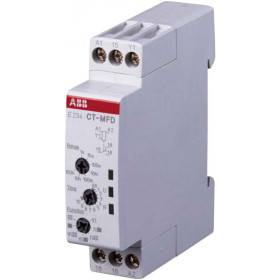 1SVR500020R0000 Реле времени универсальное(E234 CT-MFD.12) 24-48V DC, 24-240V AC 7 функ, 1пк, 2СНДа