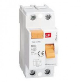 "062203008B Выключатель диф.тока(УЗО) 2-полюса 25А 100мА тип ""AC"" (LS IS тип RKN)"