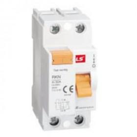 "062203068B Выключатель диф.тока(УЗО) 2-полюса 40А 100мА тип ""AC"" (LS IS тип RKN)"