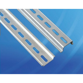 Провенто DIN-рейка перфорированная высота 15 мм, длина 350 мм, ширина 35 мм DR 15.350