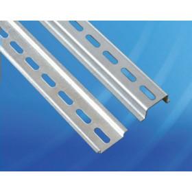 Провенто DIN-рейка перфорированная высота 15 мм, длина 550 мм, ширина 35 мм DR 15.550