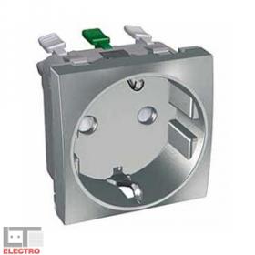 Розетка Schneider Electric Altira Алюминий ALB46287 IP20