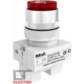 25008DEK Лампа коммутационная неон 220В АС(ЛК22-ALTE-RED-NEO) КРАСНЫЙ