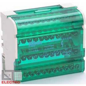 32018DEK Кросс-модуль ШН-103-4-11-125 125А на DIN-рейку 4 ряда 11 групп
