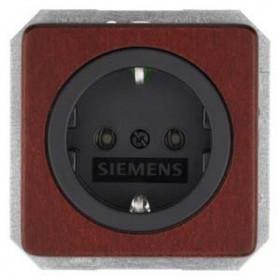 Розетка Siemens Delta Natur Красный клен 5UB1650 IP20