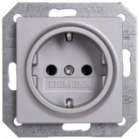 Розетка Siemens Delta i-system Алюминий 5UB1931 IP20
