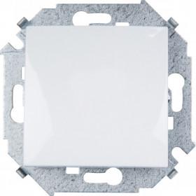 1591101-030 Выключатель одноклавишный Simon 15 Белый IP20