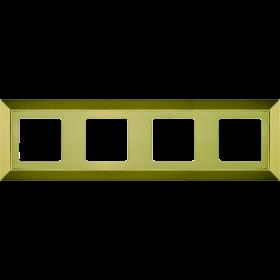 Рамка 4-ая Fede Barselona Bright Gold FD01254OB IP20