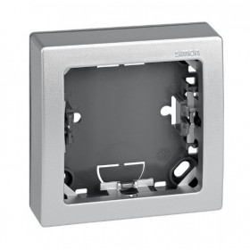 Рамка 1-ая Simon 73 Loft Алюминий 73610-63 IP20