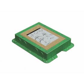 G201 Коробка для монтажа в бетон для лючков Simon Connect SF200-1 и KF200-1