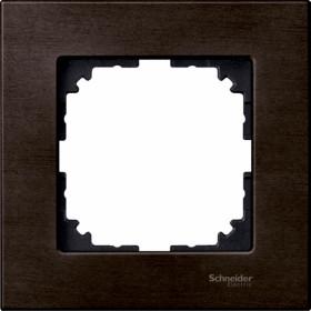 Рамка 1-ая Merten M-Elegance Венге MTN4051-3471 IP20