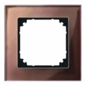 Рамка 1-ая Merten M-Elegance Махагон MTN4010-3215 IP20