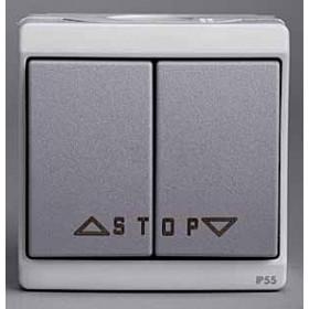 Выключатель Schneider Electric Mureva Серый ENN35742 IP55 для жалюзи с автоматической блокировкой