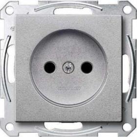 Розетка Merten System Design Алюминий MTN2000-0460 IP20