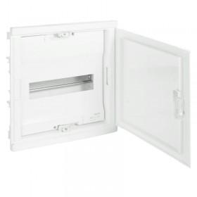 001411 Щит Legrand Nedbox встраиваемый 12 модулей IP40 1х12+2 белая дверь