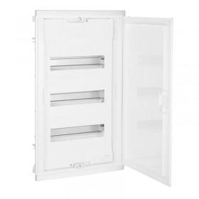 001413 Щит Legrand Nedbox встраиваемый 36 модулей IP40 3х12+6 белая дверь
