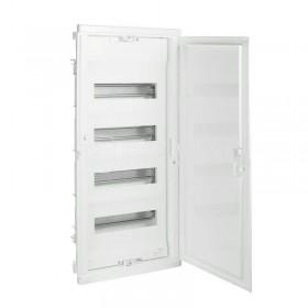 001414 Щит Legrand Nedbox встраиваемый 48 модулей IP40 4х12+8 белая дверь