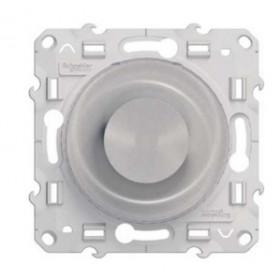 Диммер Schneider Electric Odace Алюминий S53R511 Поворотный 40-600 Вт