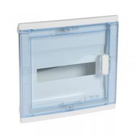 001421 Щит Legrand Nedbox встраиваемый 12 модулей IP40 12+2 прозрачная дверь