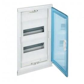 001422 Щит Legrand Nedbox встраиваемый на 24 модуля IP40 2х12+4 прозрачная дверь