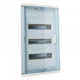 001423 Щит Legrand Nedbox встраиваемый 36 модулей IP40 36+6 прозрачная дверь