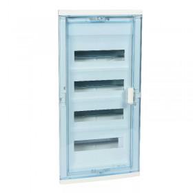 001424 Щит Legrand Nedbox встраиваемый 48 модулей IP40 4х12+8 прозрачная дверь