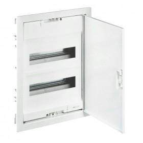 001432 Щит Legrand Nedbox встраиваемый на 24 модуля IP40 2х12+4 металлическая дверь