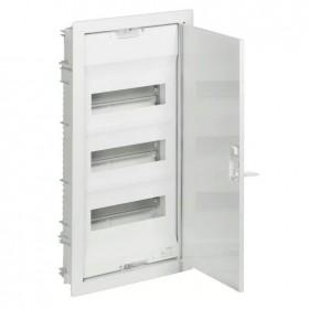 001433 Щит Legrand Nedbox встраиваемый 36 модулей IP40 3х12+6 металлическая дверь