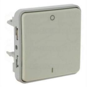 69627 Выключатель двухполюсный Legrand Plexo влагозащищенный IP55 Белый