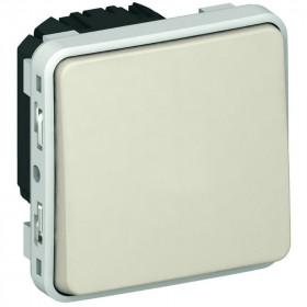 69611 Выключатель с 2-х мест Legrand Plexo влагозащищенный IP55, Белый