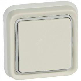 69851 Выключатель IP55 одноклавишный с 2-х мест скрытой установки Legrand Plexo влагозащищенный Белый