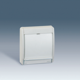 4400036-102 Рамка с полупрозрачным окном для светильника(арт75370-39) IP55 Simon 44 Aqua. СЕРЫЙ