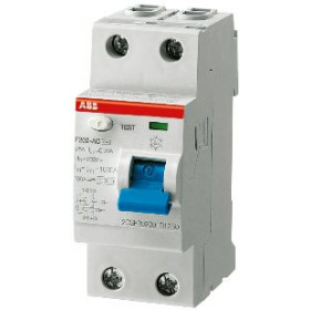 "2CSF202001R2400 Выключатель диф.тока(УЗО) 2-полюса 40А 100мА тип ""AC"" (ABB серия F202 AC-40/0.1)"