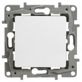 672200 Выключатель одноклавишный IP44 скрытой установки переключатель с 2-х мест Legrand Etika Белый