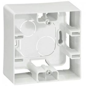 672510 Коробка 1 пост накладного монтажа Legrand Etika Белый