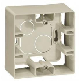 672520 Коробка 1 пост накладного монтажа Legrand Etika Слоновая кость