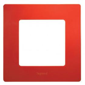672531 Рамка 1 пост Legrand Etika Красный