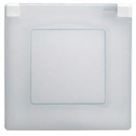 672550 Рамка 1 пост влагозащищенная IP44 Legrand Etika Белый