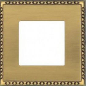 Рамка 1-ая Fede Toledo Bright Patina FD01211PB IP20