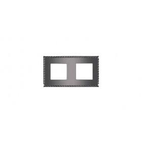 Рамка 2-ая Fede Toledo Graphite FD01212GR IP20