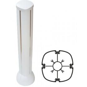 30742 Мини-колонна DLP Legrand 4 секционная высота 0,70 метра, Белая